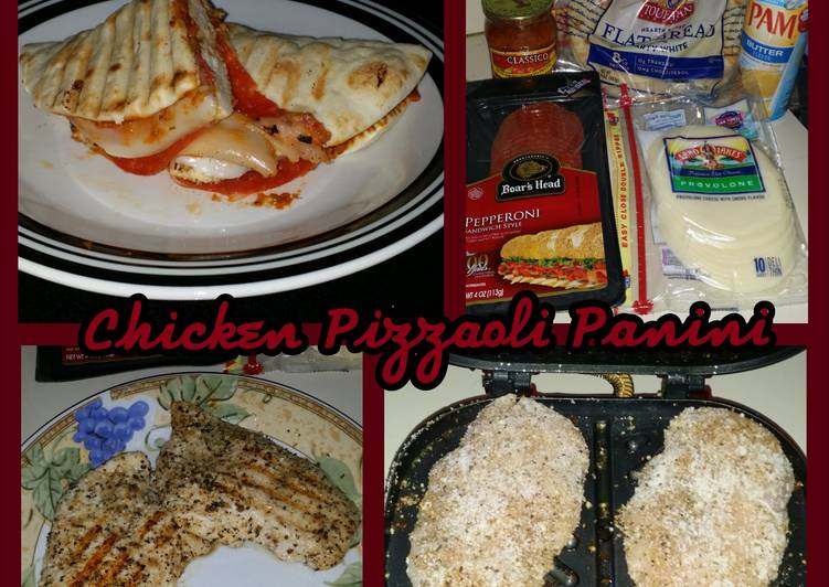 Easiest Way to Make Tasty Chicken Pizzaoli Panini