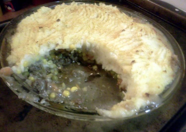 Shepherds pie straight from Maine!