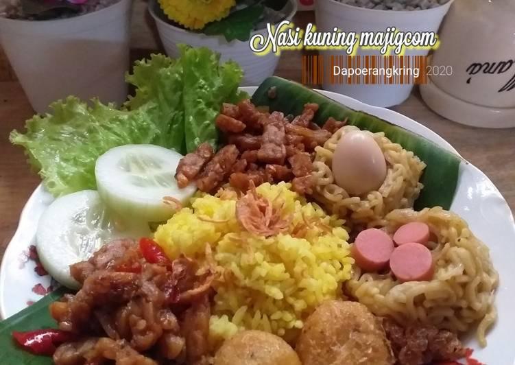 13.80 Nasi kuning majicom - cookandrecipe.com
