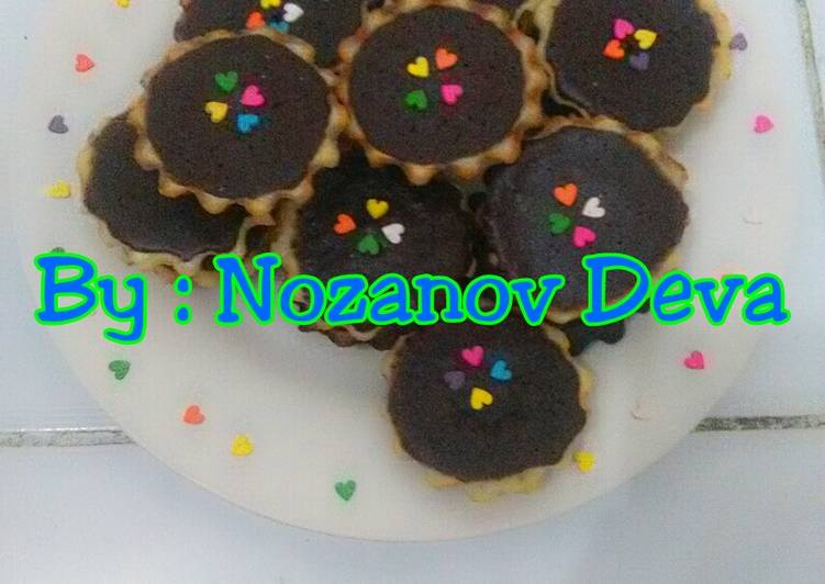 Resep Pie Brownies Deva (No Oven) Paling Enak
