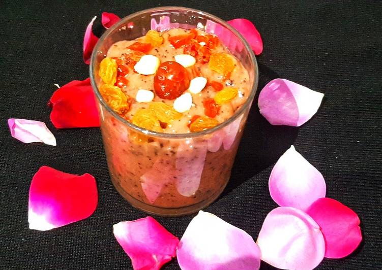 15 Minute Recipe of Homemade Chia papaya Beetroot smoothie