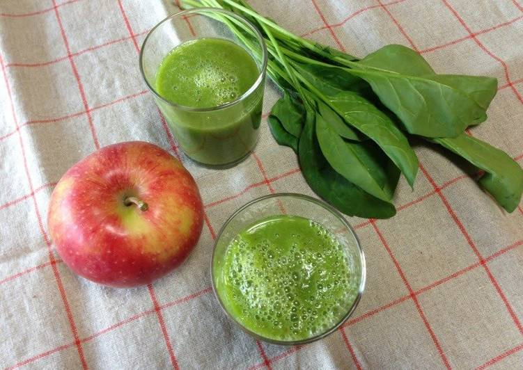 Energizing Green Smoothie with Avocado