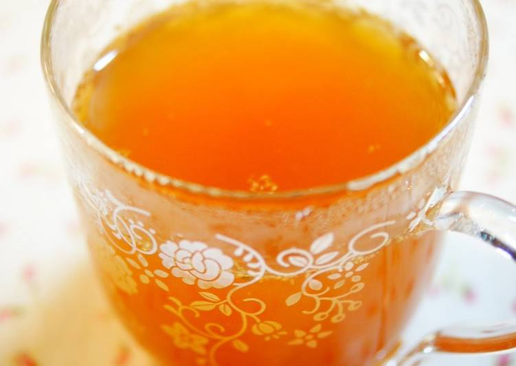 Ginger Tea with Apple Cider Vinegar