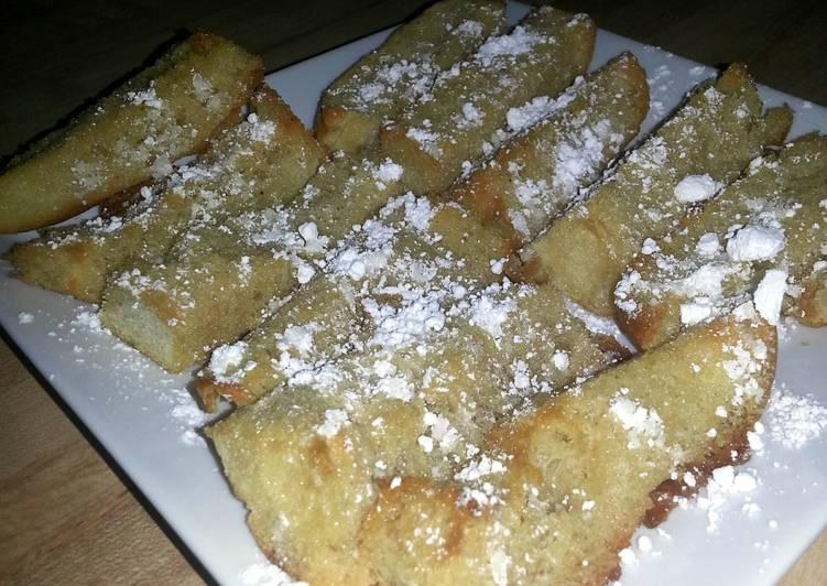 Delicious Buttery Maple Sticks