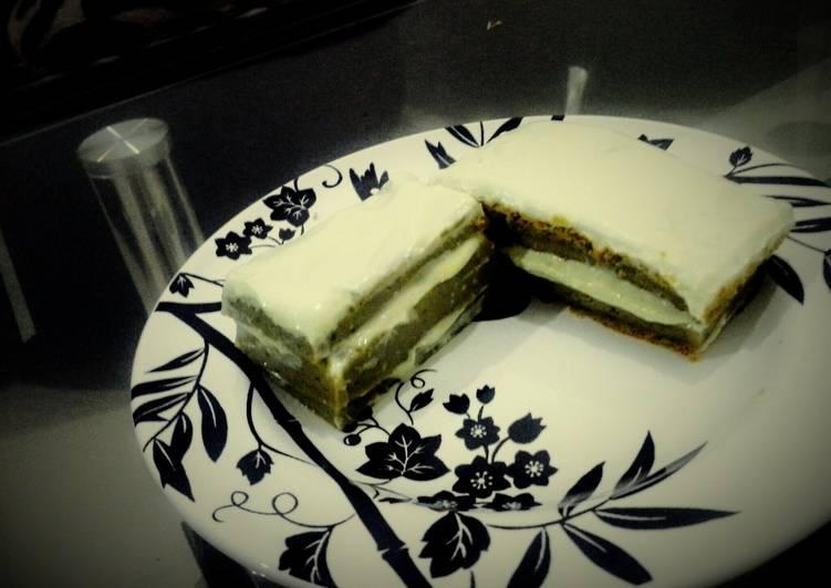 Recipe: Tasty Macha Cake
