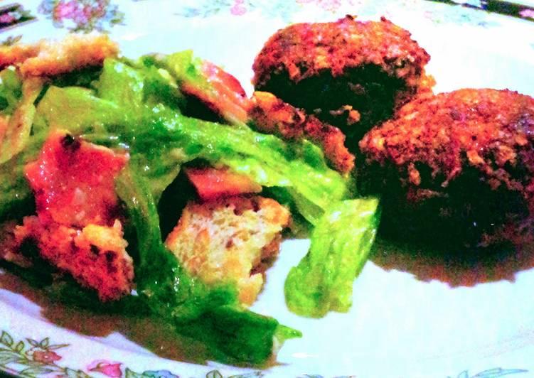 homestyle beef & pork patties