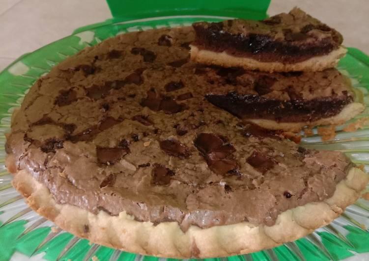 Resep Pie brownis teplon Paling Joss