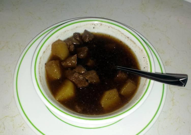 Beef Potato Soup