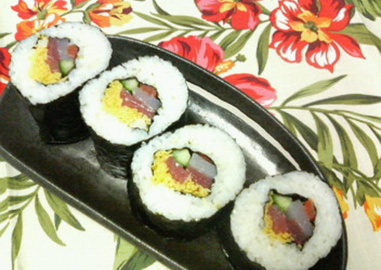 Top 100 Dinner Ideas Blends Seafood Ehomaki (Lucky Fat Sushi Rolls)