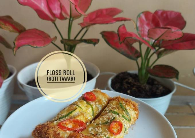 Floss Roll (Roti Tawar)
