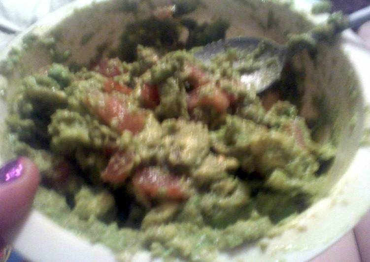 Recipe of Super Quick Homemade Simple but delicious Guacamole
