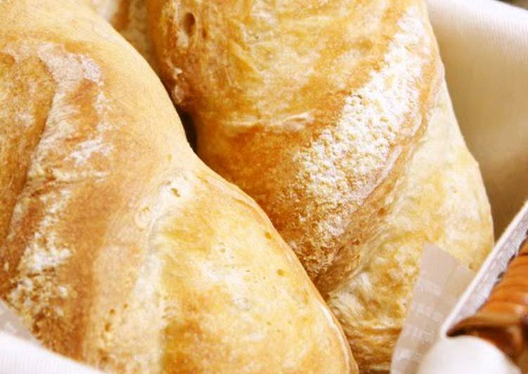Simple Way to Prepare Ultimate Easy Small Sized Soft Baguettes*Using a Bread Maker