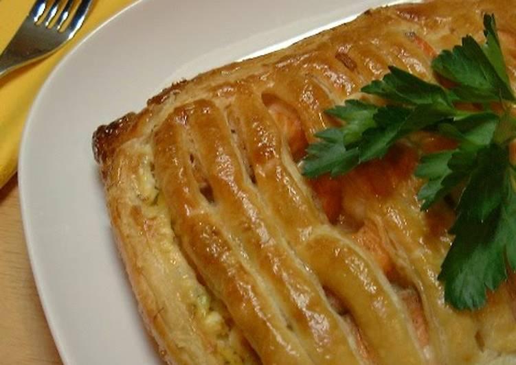 An Easy Feast! Salmon Tartar Sauce Pie