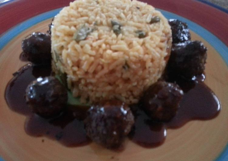Recipe: Perfect Meatballs with sweet and sour sauce