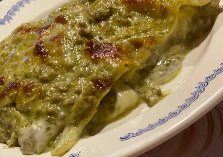 How to Make Tasty Lasagna with basil pesto