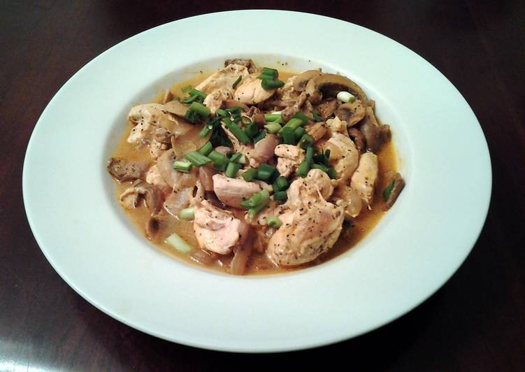 Recipe: Delicious Chinese Chicken with Mushrooms my version of Moo Goo Gai Pan