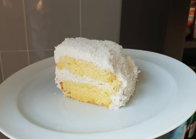 Gâteau léger vanille coco