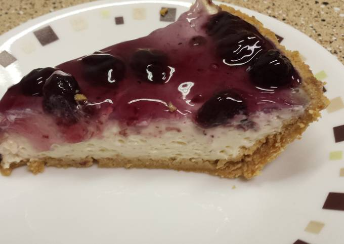 How to Prepare Tasty Blueberry cream pie