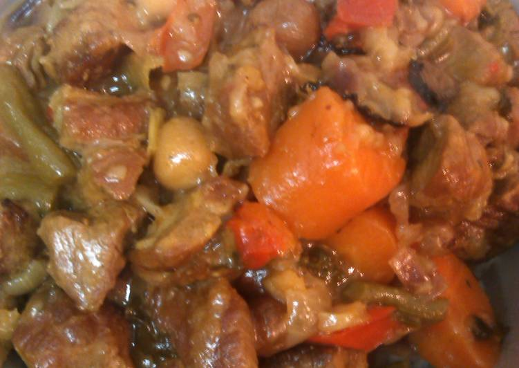 Healthy but oh so delicious Lamb Casserole