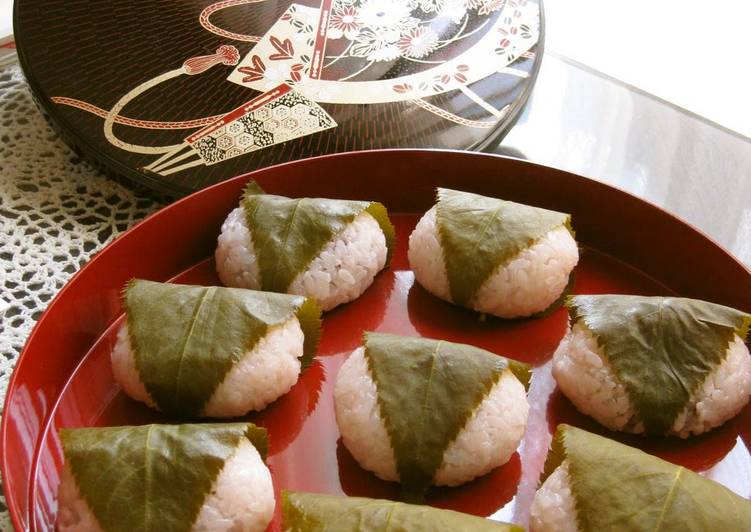 Recipe of Speedy Sakura Mochi - A Recipe Passed from Mother to Daughter