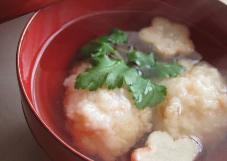 Step-by-Step Guide to Prepare Super Quick Homemade Shrimp Ball Clear Soup