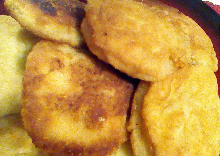 fried cornbread with cheese :-)