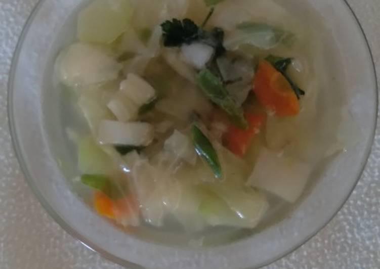 Sup Sayuran Sederhana but Yummyyy