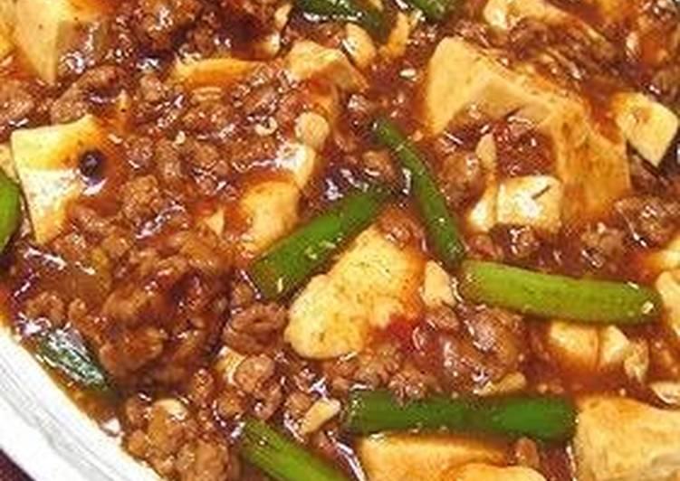How to Prepare Award-winning My Family's Recipe for Szechuan Mapo Tofu