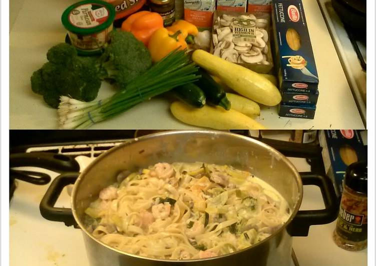 The Best Dinner Ideas Vegan Shrimp Alfredo