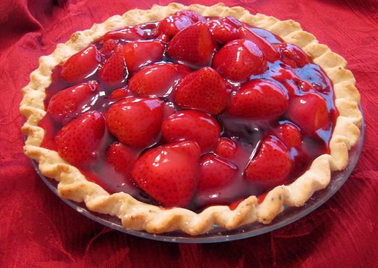 The Best Dinner Easy Refreshing Strawberry Pie