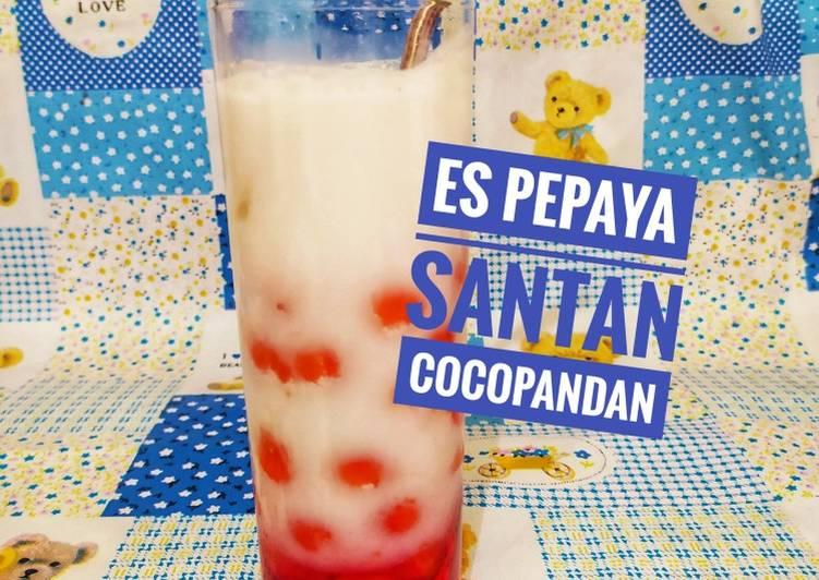 Es Pepaya Santan Cocopandan