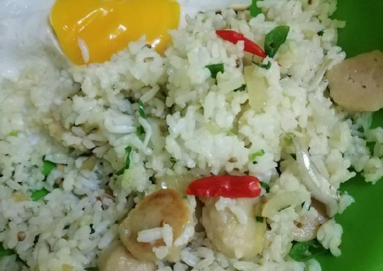 Resep Bekal suami: Nasi Goreng Kampung Baso Paling Gampang