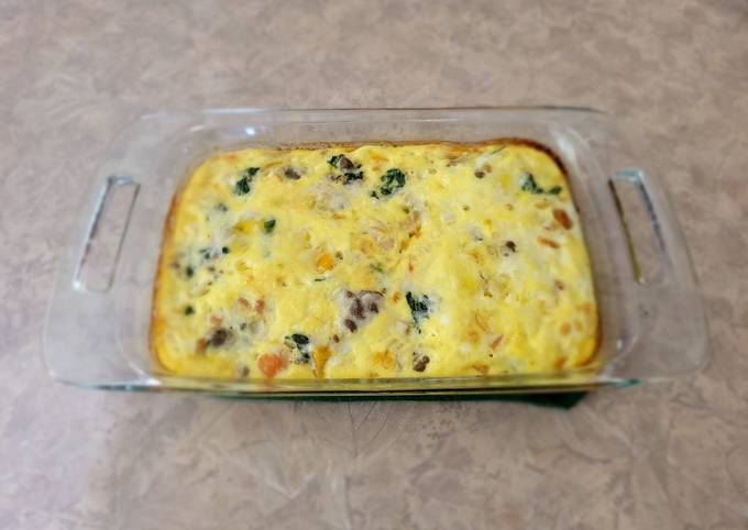 Veggie Breakfast Bake