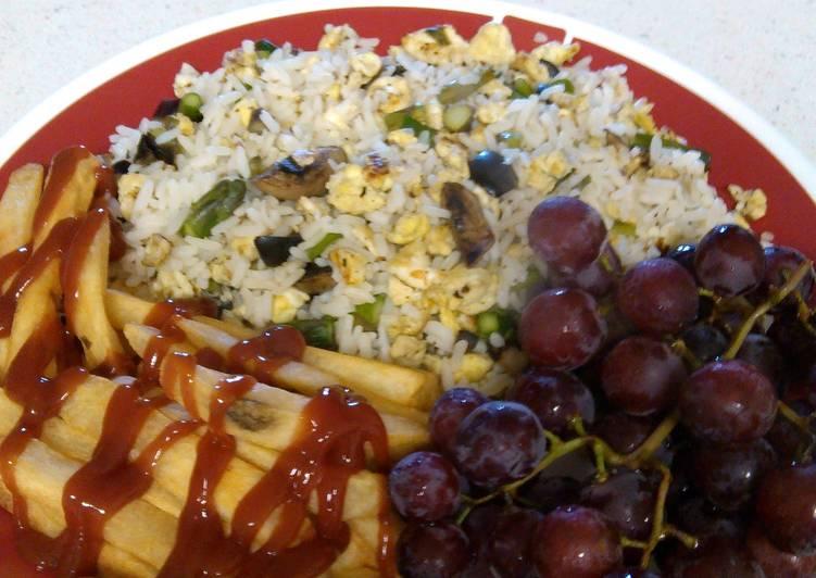 Stewz Scrambled Rice