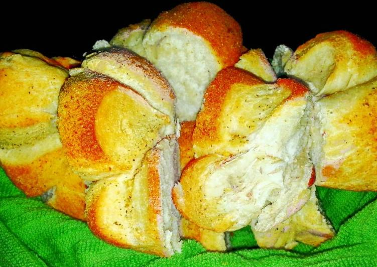 Mike's 5 MIN Garlic-Parmesan Bread