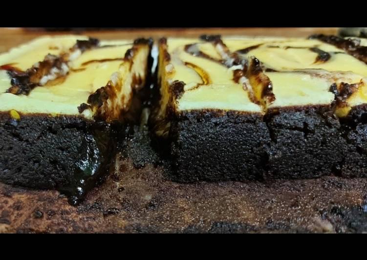 Brownies Cream Cheese Choco Melted / Fudgy ala win.S.ton bite's