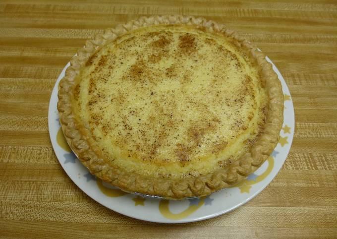Recipe of Anthony Bourdain Texas Buttermilk Pie