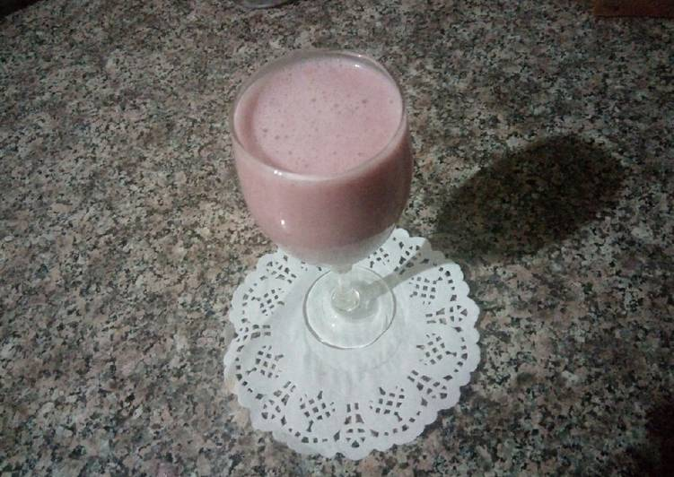How to Cook Delicious Smoothie fraise