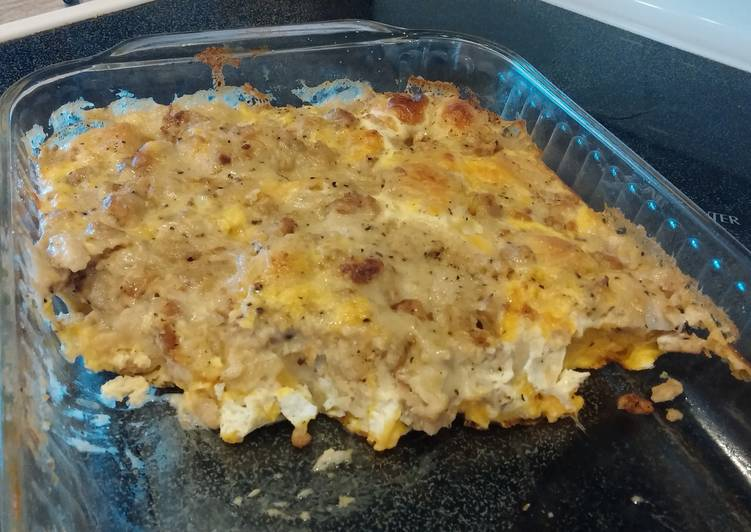 Step-by-Step Guide to Prepare Super Quick Homemade Delicious Breakfast Bake