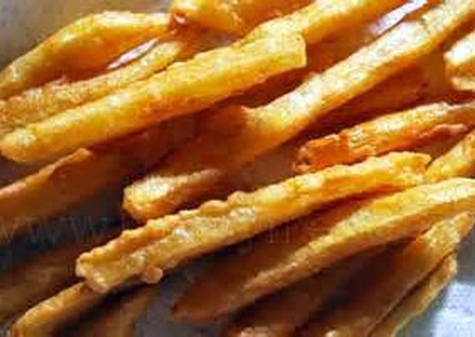 Crunchy fries