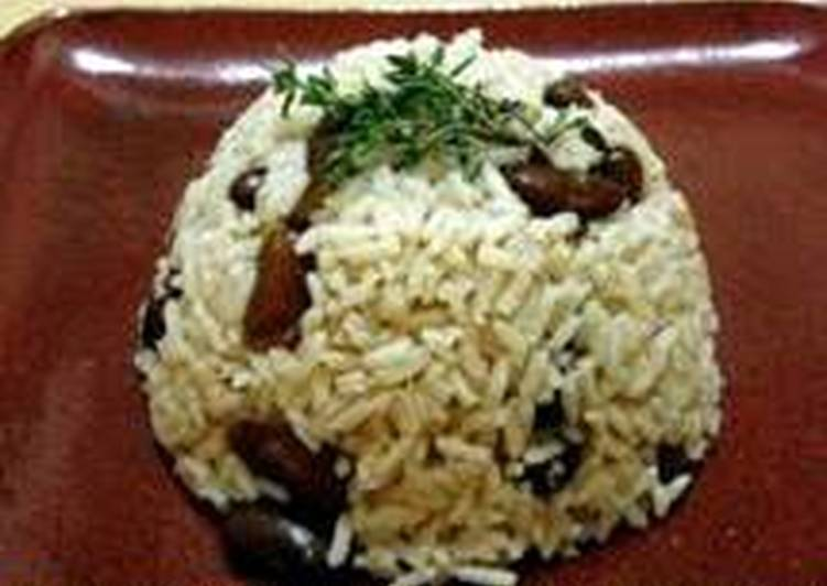 Information on How to Elevate Your Mood with Food Rice & Peas