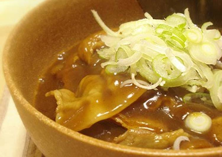 Restaurant Quality Curry Udon Noodles