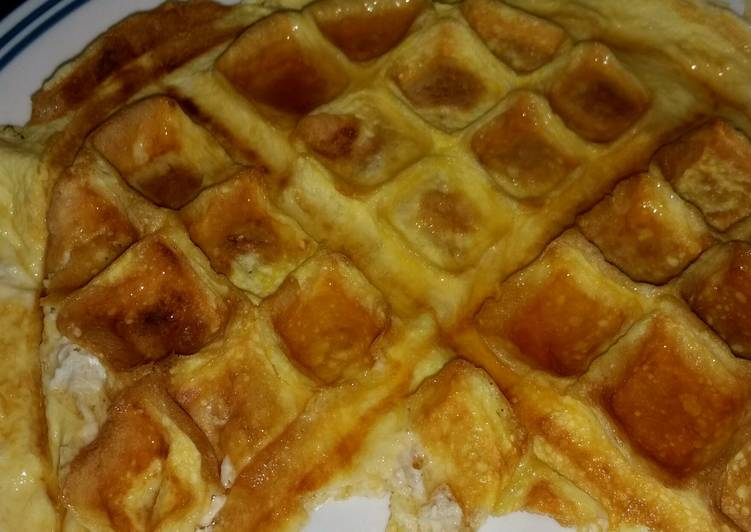 Recipe of Speedy Low Carb Cream Cheese waffle