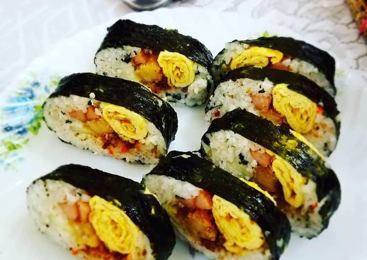 Resep Sushi Isi Telur Sosis Dan Nugget Oleh Elijah Obiano Cookpad
