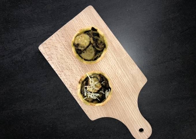 Tartelette courgette&pesto