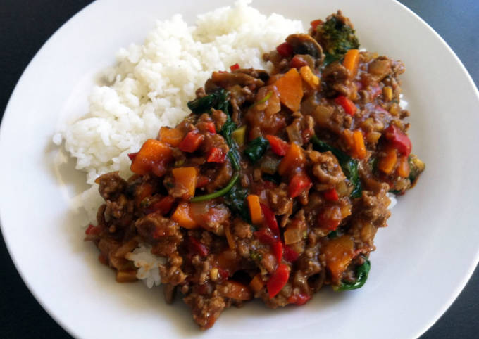 Clean-Up-Fridge Curry