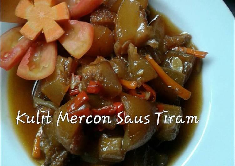 Kulit Mercon Saus Tiram