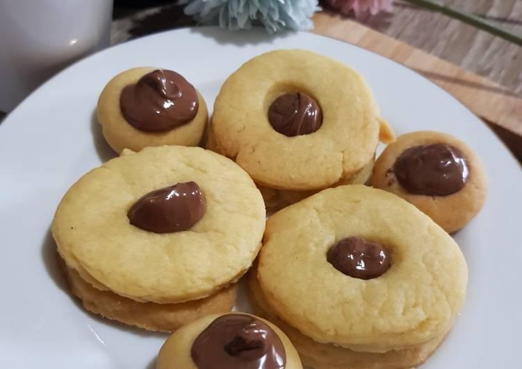 24. 3 Ingredients Condensed Milk Cookies