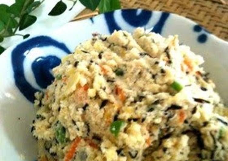 How to Make Ultimate Healthy Potato Salad with Okara and Hijiki Seaweed