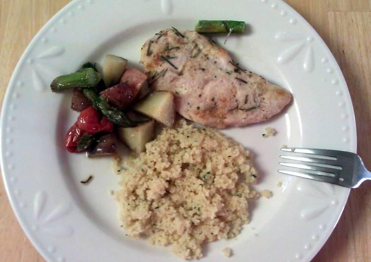Chicken & veggies